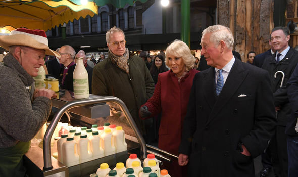 The Prince of Wales and The Duchess of Cornwall vists Borough Market and Southwark Cathedral