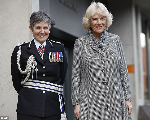 The Duchess of Cornwall visits the Metropolitan Police Service Base