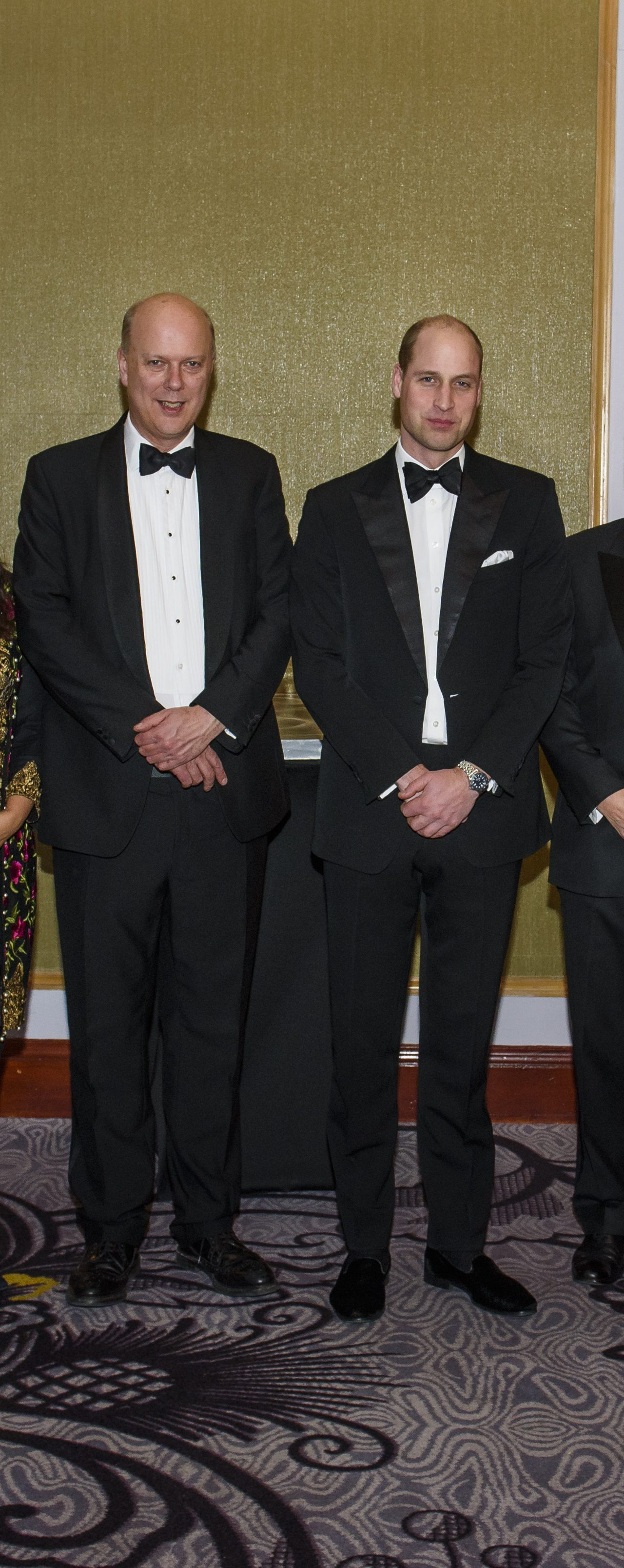 The Duke of Cambridge attends the UK Chamber of Shipping Annual Dinner
