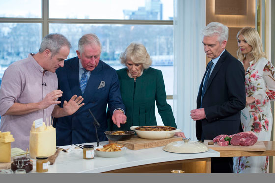 The Princes of Wales and The Duchess of Cornwall Vists ITV Studios
