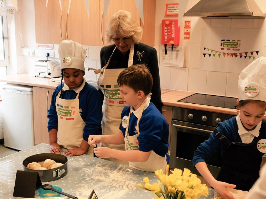 The Duchess of Cornwall attends Commonwealth Big Lunch