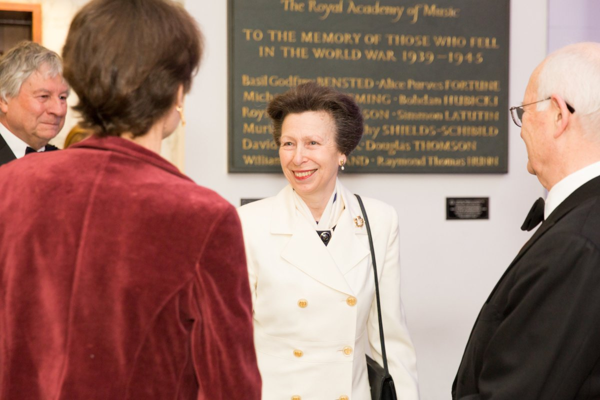 The Princess Royal opens new Theatre and Recital Hall