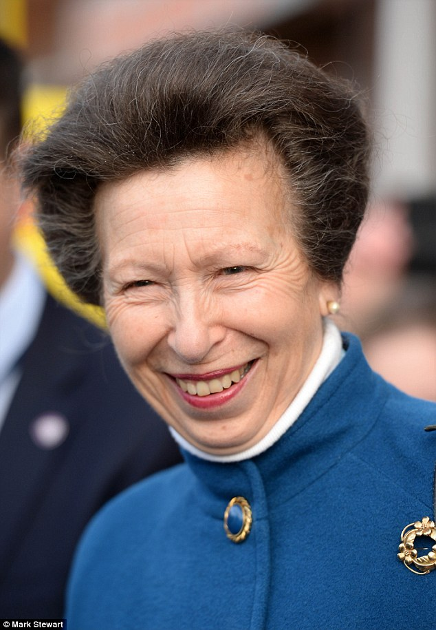 The Princess Royal attends a Twentieth Anniversary reception