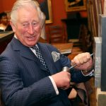 The Prince of Wales visits the National Gallery