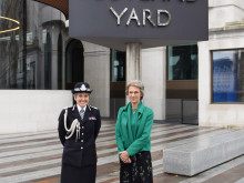 The Duchess of Gloucester visits New Scotland Yard