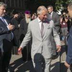 The Prince of Wales attends the Israel at 70 celebrations at the Royal Albert Hall