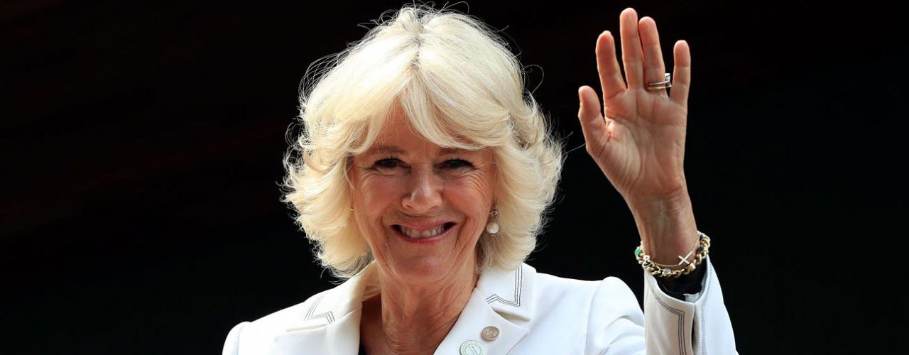 The Duchess of Cornwall attends a Reception at the Garden Museum