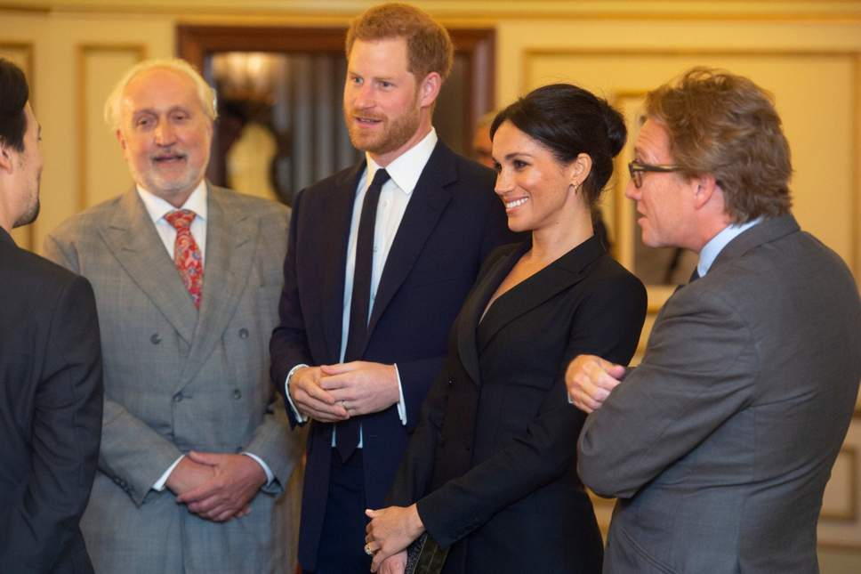 """The Duke and Duchess of Sussex attended a performance of """"Hamilton"""""""