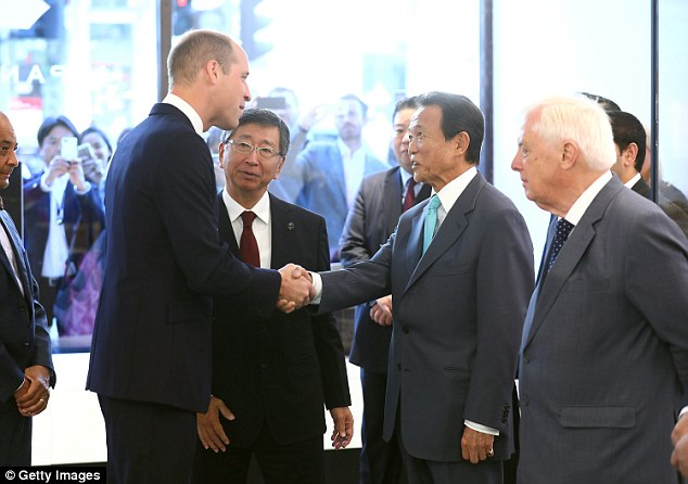 The Duke of Cambridge officially opened Japan House
