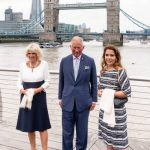 The Prince of Wales visited the Old Vic