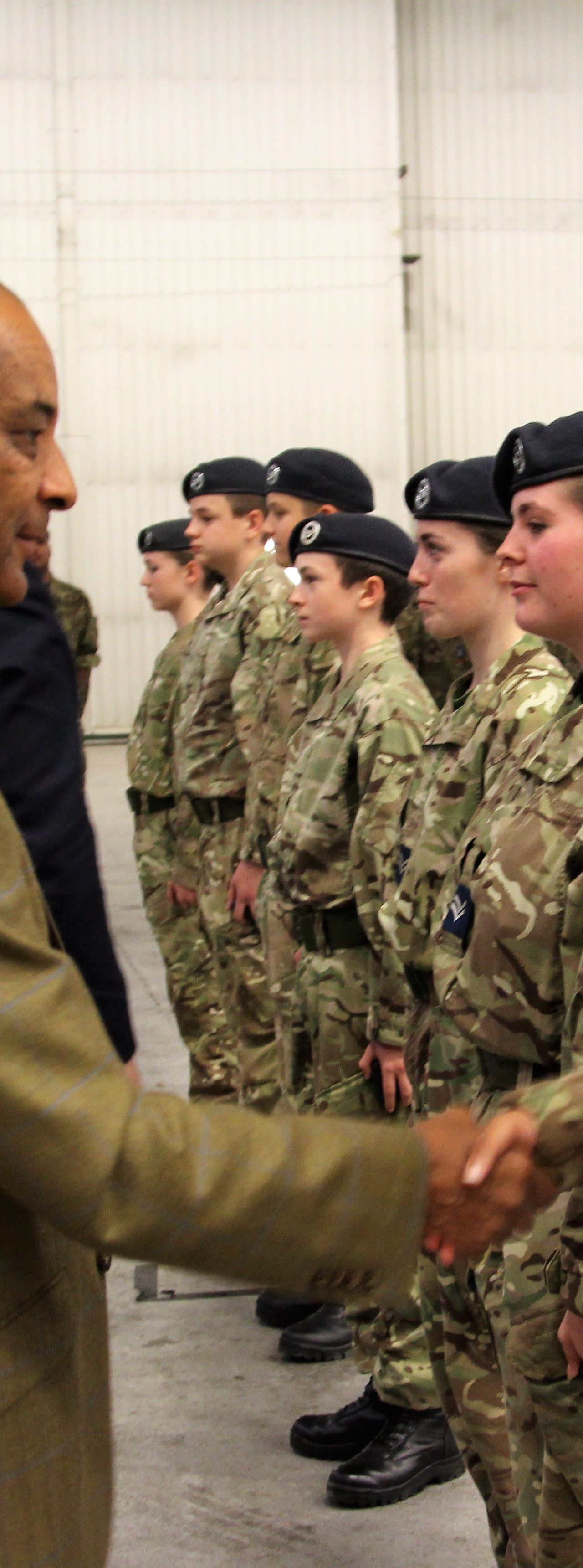 Surbiton Air Cadets Scoop Prize Trophy
