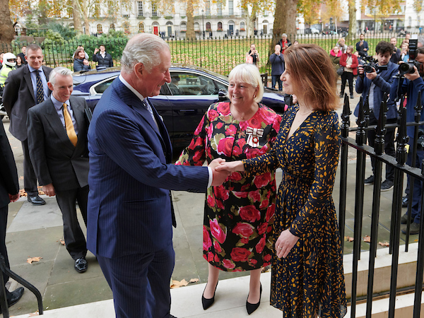 The Prince of Wales visits the Royal Society of Musicians of Great Britain