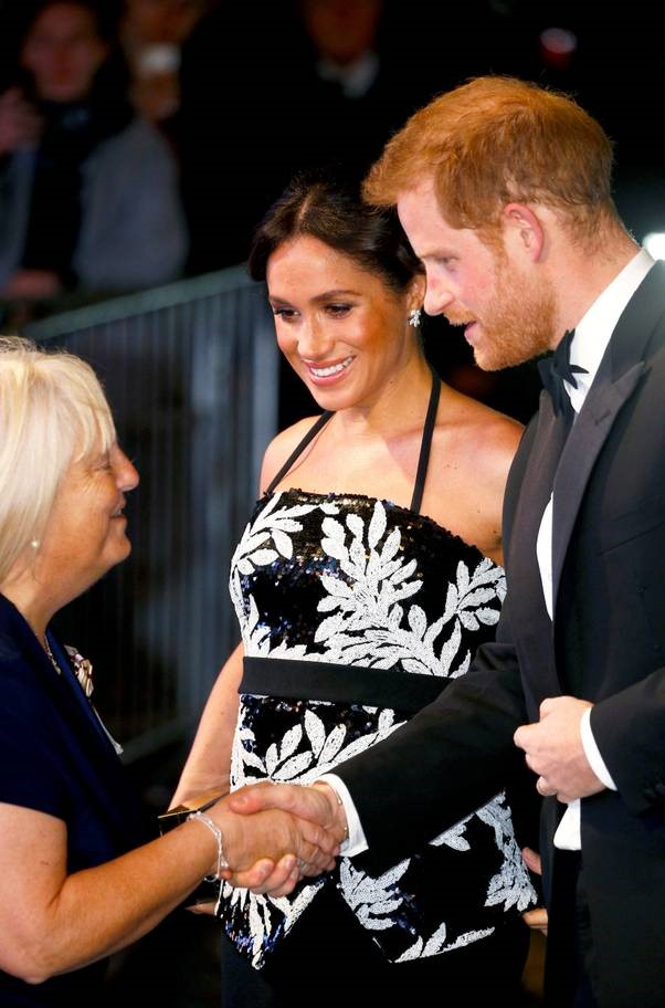 The Duke and Duchess of Sussex attends the Royal Variety Performance