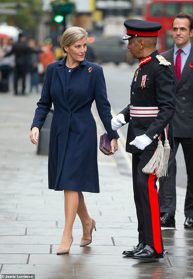 The Countess of Wessex attends a Commemoration Service at St Martin-in-the-Fields