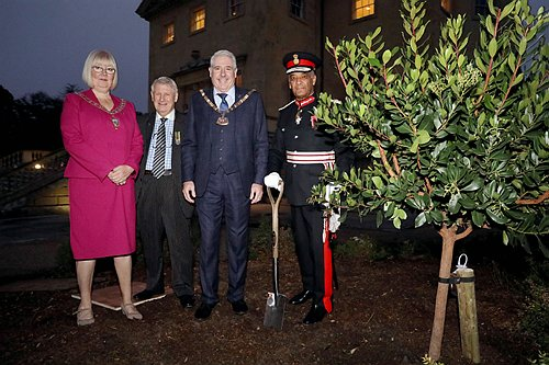 The Lord Lieutenant visits Danson House