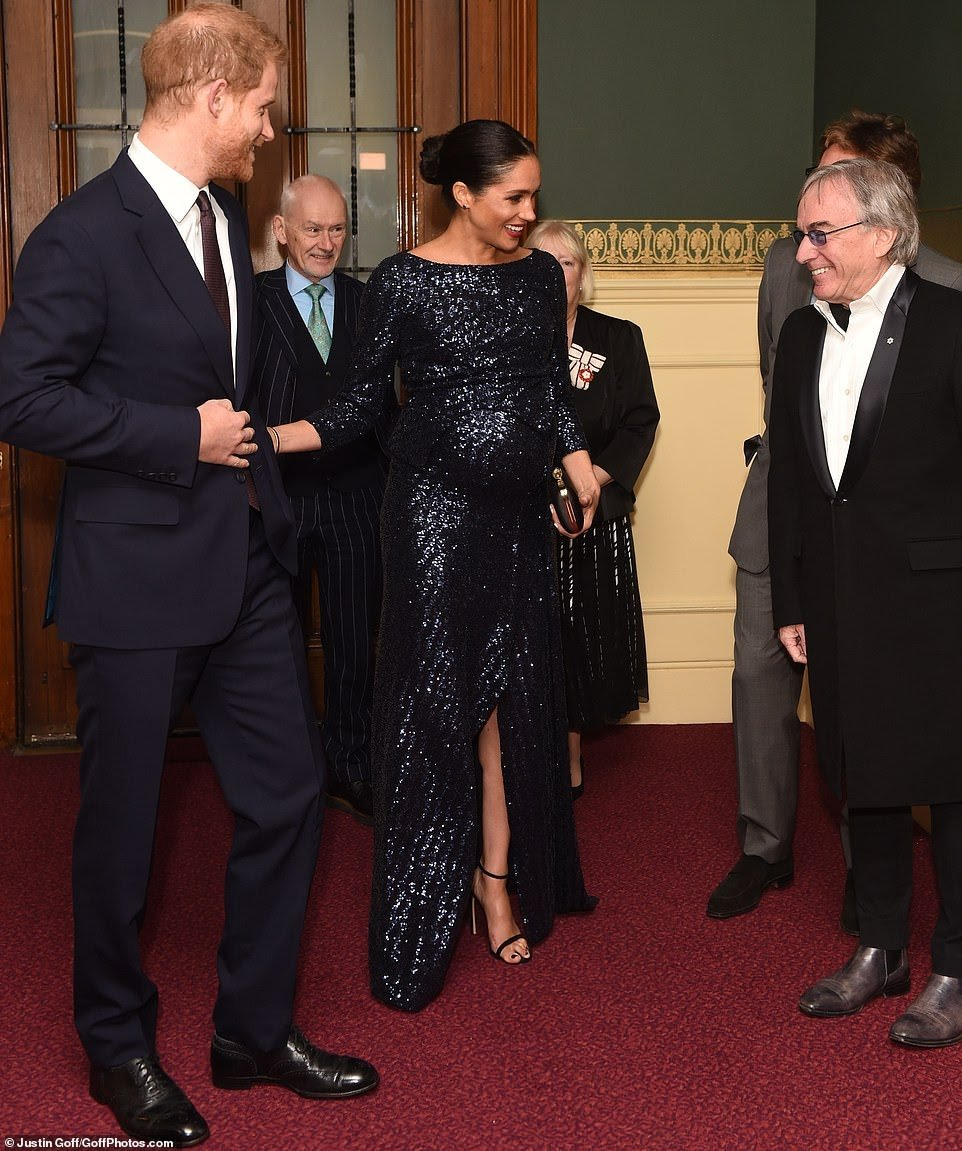 The Duke and Duchess of Sussex attends the Première of Cirque du Soleil