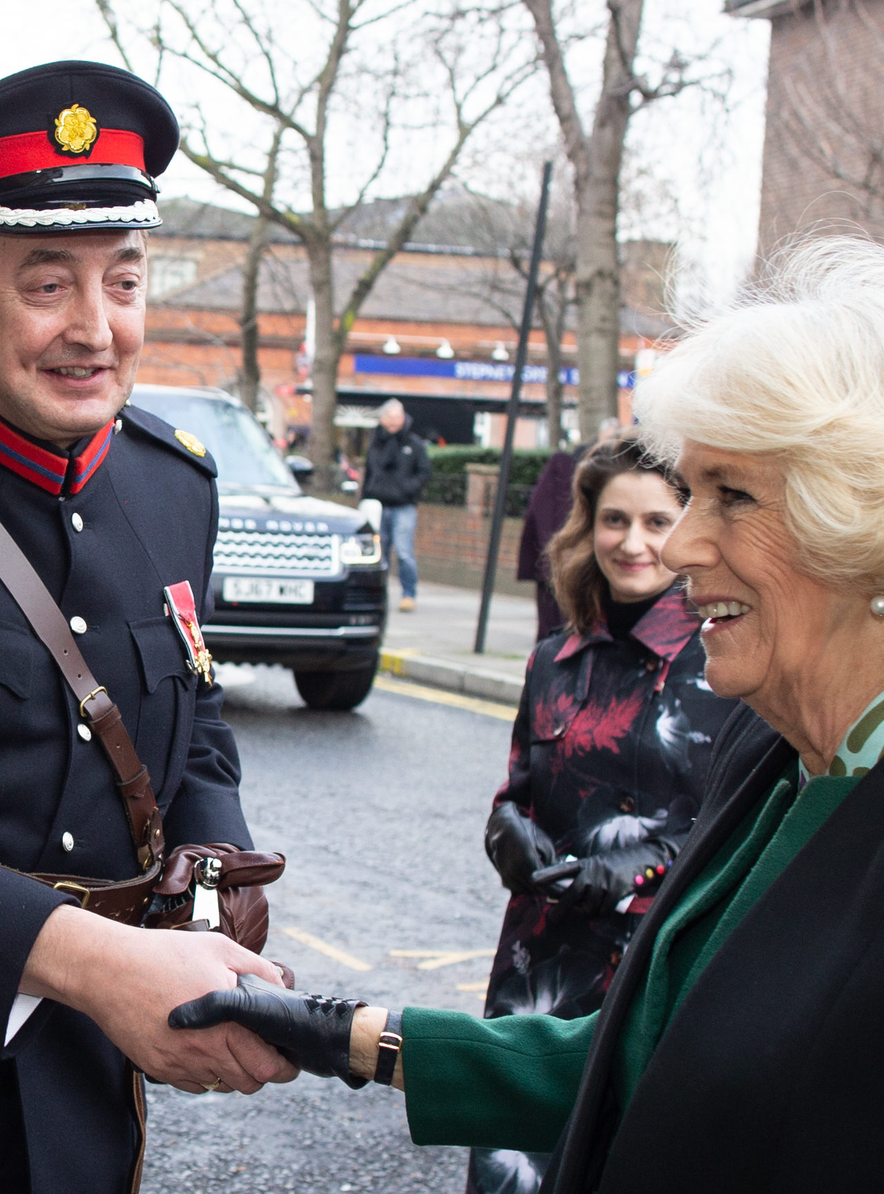 The Duchess of Cornwall visits Stepney Jewish Community Centre