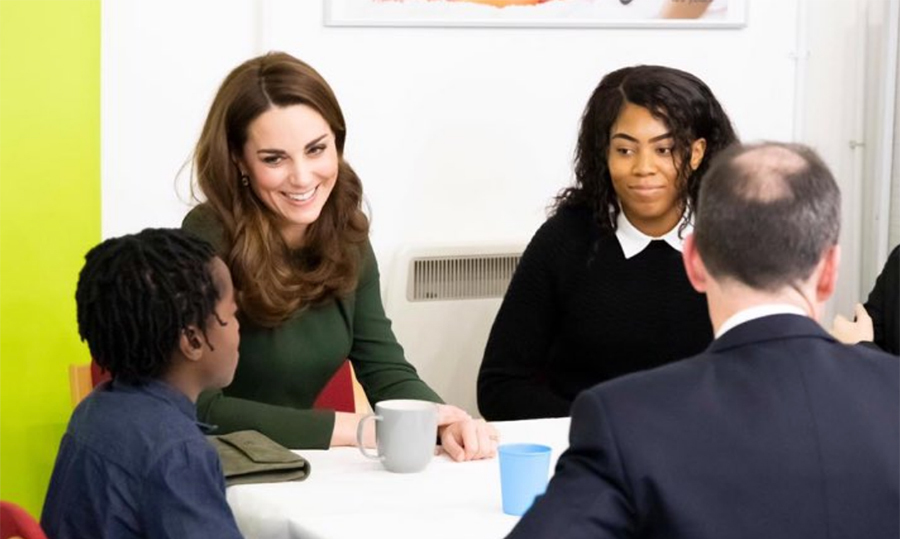 The Duchess of Cambridge visits Family Action