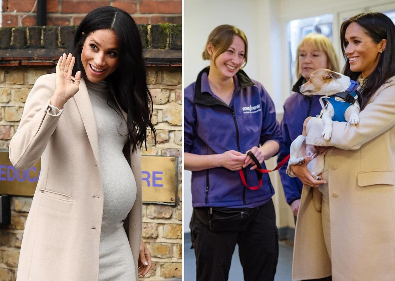 The Duchess of Sussex visits Mayhew