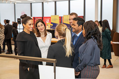 The Duchess of Sussex attends a Reception given by the Association of Commonwealth Universities