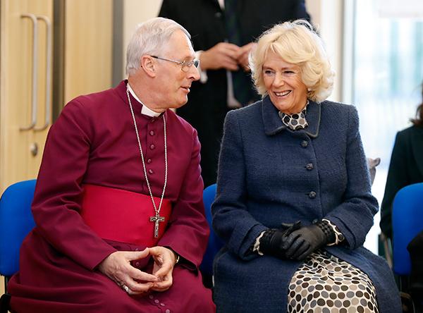 The Duchess of Cornwall visits St. John's Church