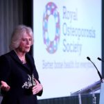 The Duchess of Cornwall attends the official launch of the Royal Osteoporosis Society