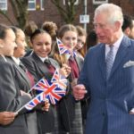 The Prince of Wales visits Kensington Aldridge Academy