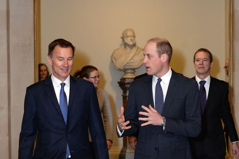 The Duke of Cambridge opens Mayhew Theatre