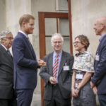 The Duke of Sussex attends the Mountbatten Festival of Music