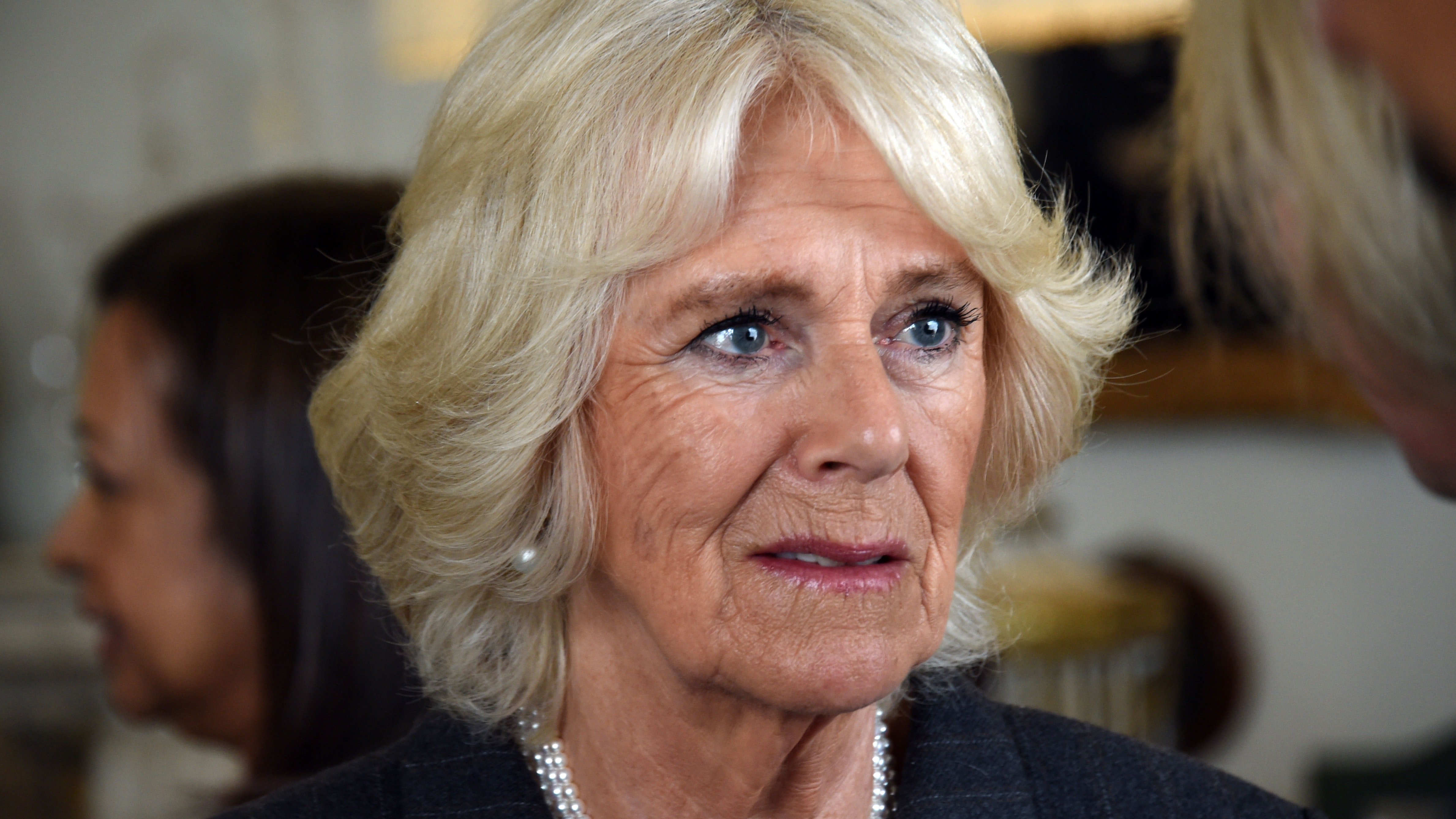 The Duchess of Cornwall visits Avondale Park Primary School