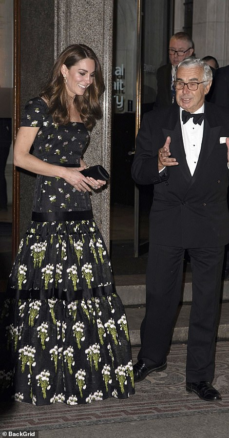 The Duchess of Cambridge attends the Portrait Gala