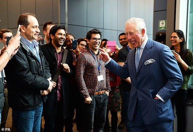 The Prince of Wales visits Polymateria Limited
