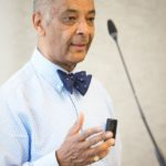 The Lord- Lieutenant of Greater London, Sir Kenneth Olisa OBE attends the Muslim News Awards.
