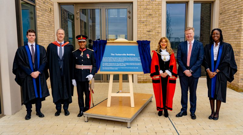 The Lord Lieutenant of Greater London opened a new building at Eltham College