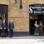 The Queen attends Sainsbury's 150th Anniversary celebrations