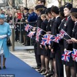 The Queen visits British Airways to mark its 100th Anniversary