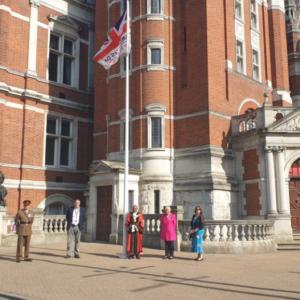 Flag Raising (Croydon)