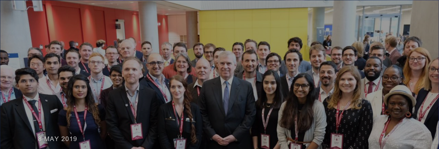 The Duke of York holds Pitch@Palace 11.0 Bootcamp at Imperial College