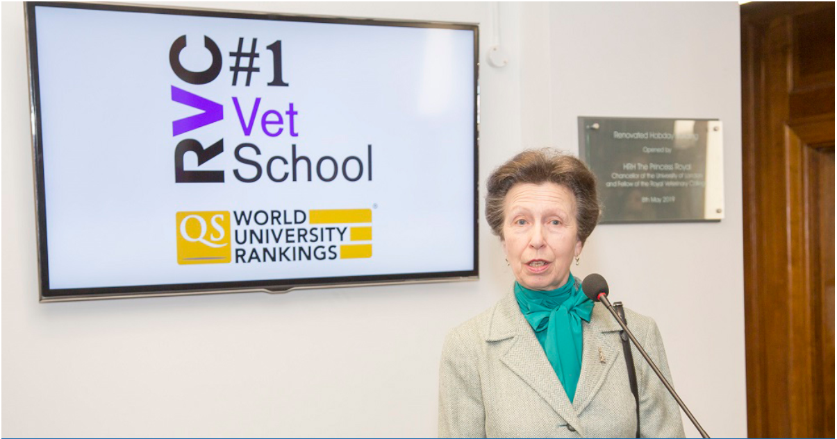 The Princess Royal opens the newly refurbished Hobday Building in Camden