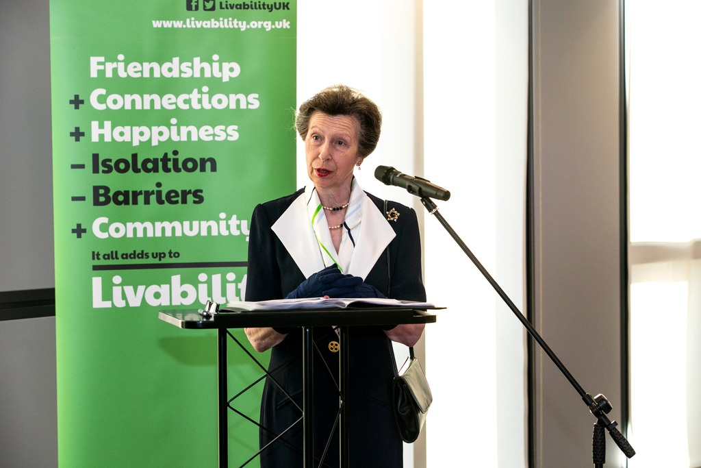 Princess Royal visits Livability in North Greenwich