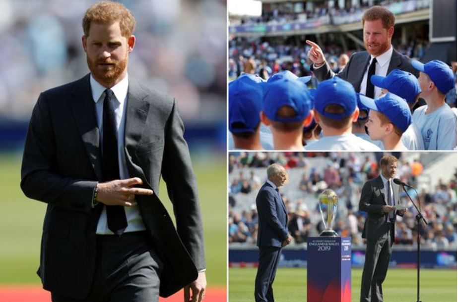 The Duke of Sussex opens the Cricket World Cup