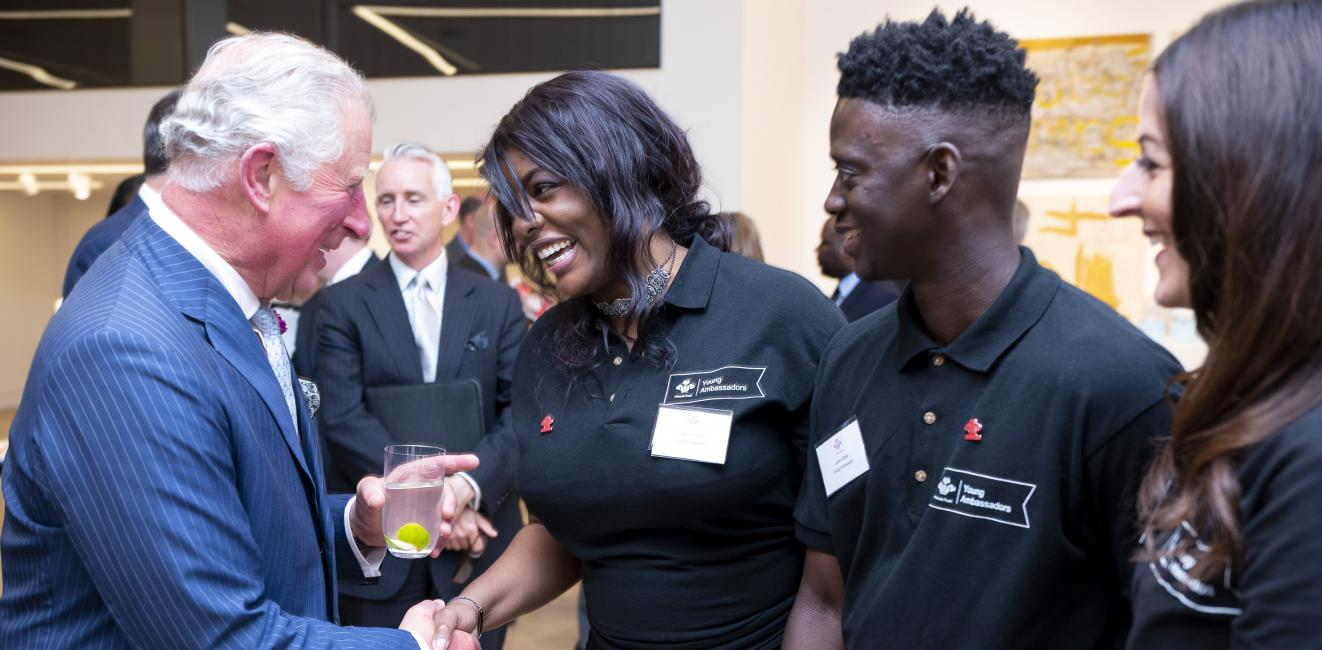 The Prince of Wales attends Youth Can Do It Reception
