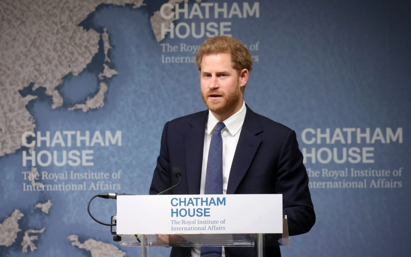 The Duke of Sussex attends Halo Trust Conference