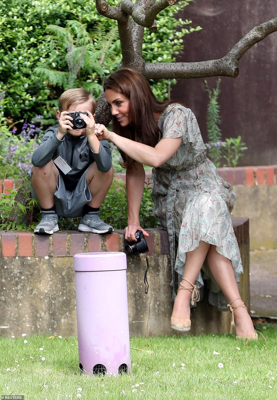The Duchess of Cambridge visits Warren Park Children's Centre