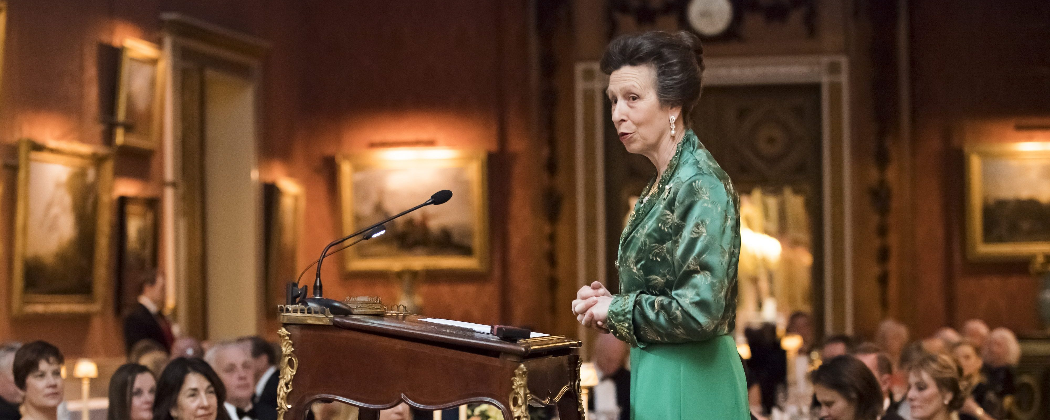 The Princess Royal attends Animal Health Trust Dinner