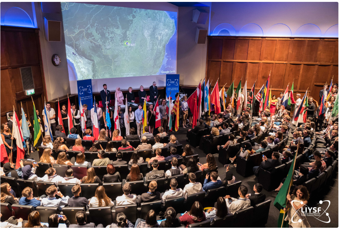 The Princess Royal opens the 61st London International Youth Science Forum