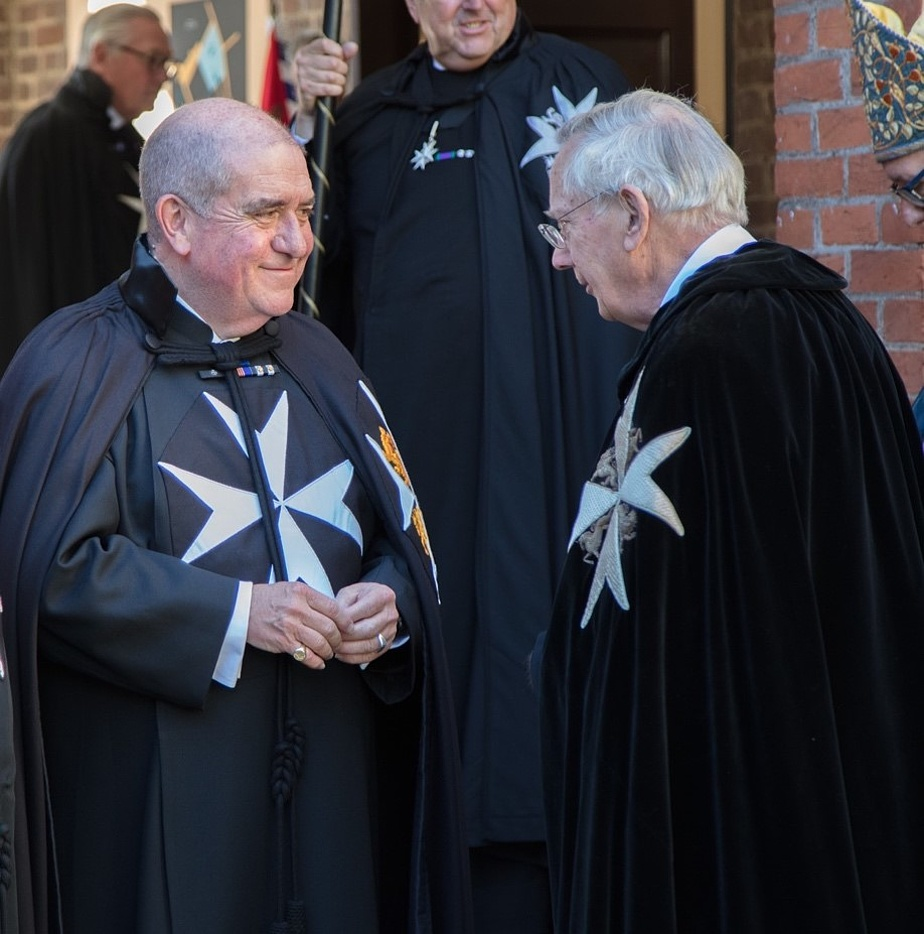 The Duke of Gloucester holds an Investiture at the Priory Church of the Order of St. John