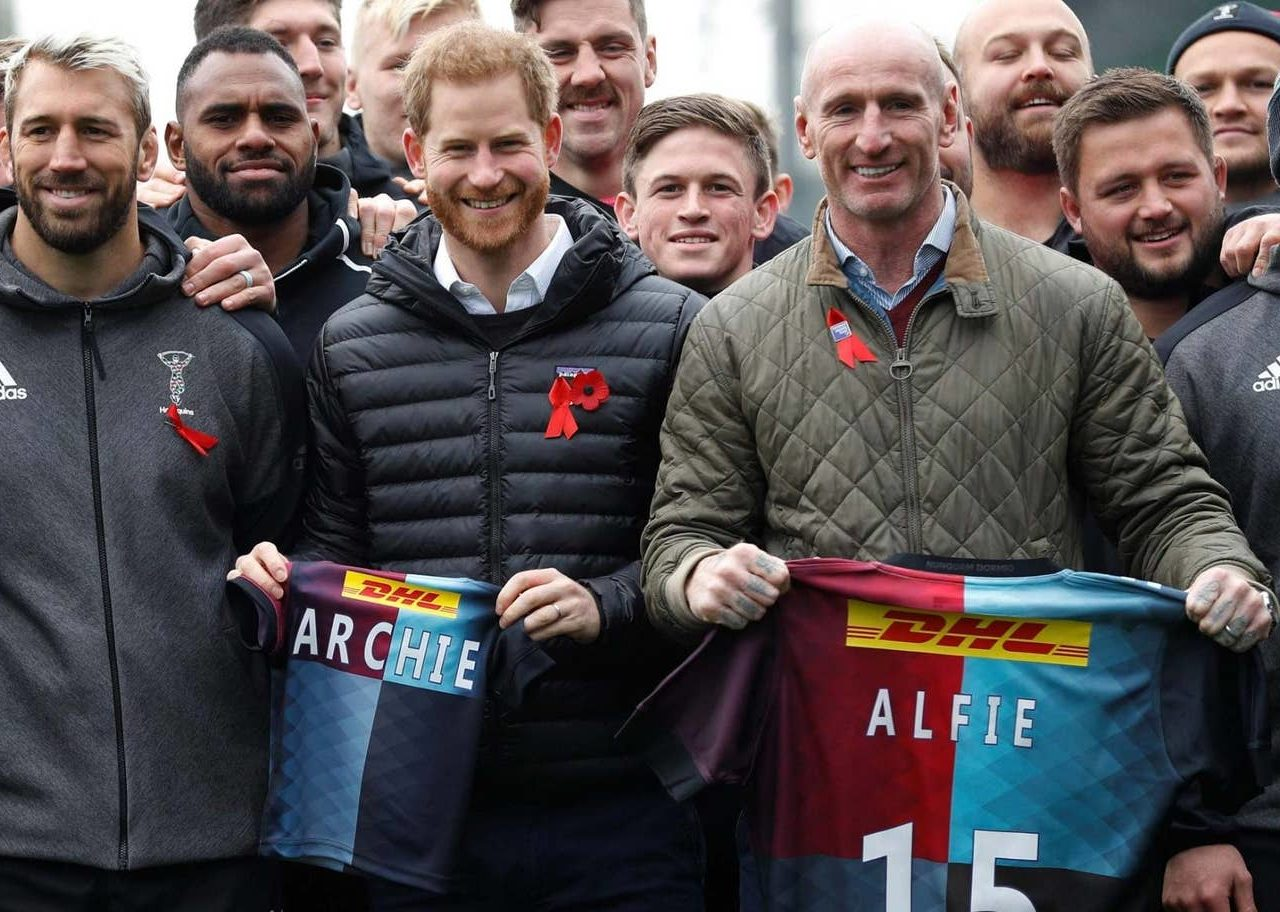 HRH The Duke of Sussex attended an engagement with the Terrence Higgins Trust