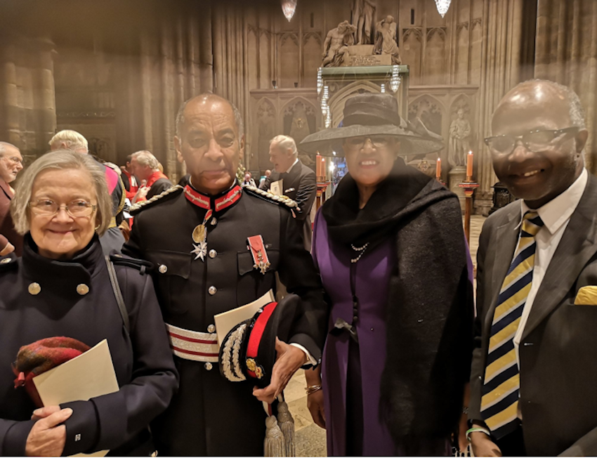 Lord-Lieutenant attends installation of the new Dean of Westminster Abbey