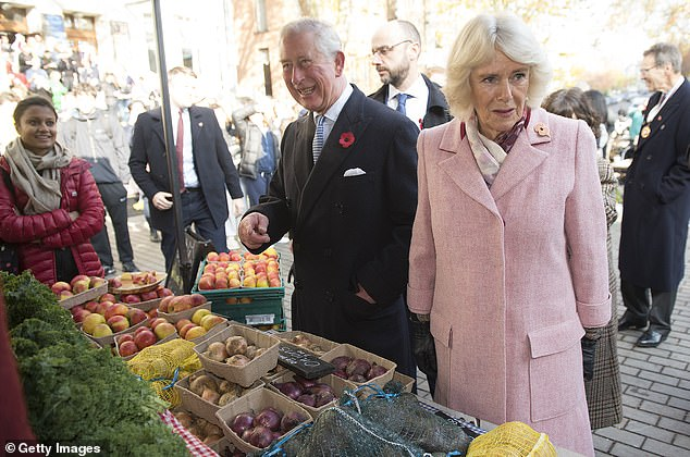 HRH The Prince of Wales and The Duchess of Cornwall attend the 20th Anniversary of the London Farmers' Markets